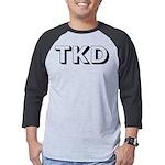 Tae Kwon Do TKD Mens Baseball Tee