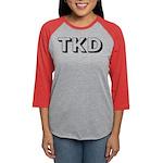 Tae Kwon Do TKD Womens Baseball Tee