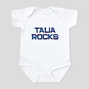 talia rocks Infant Bodysuit