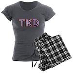 Taekwondo TKD Women's Charcoal Pajamas