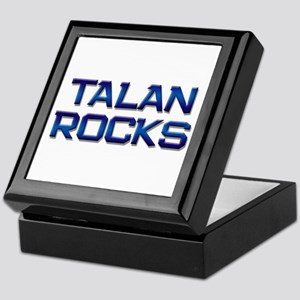 talan rocks Keepsake Box