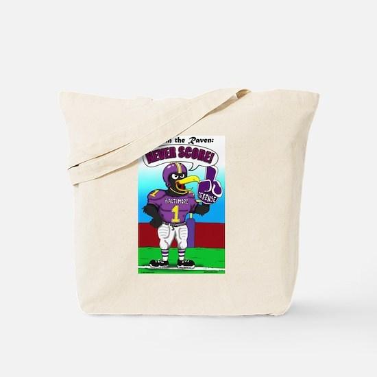 Never Score Tote Bag