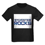 sylvester rocks Kids Dark T-Shirt