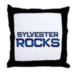 sylvester rocks Throw Pillow