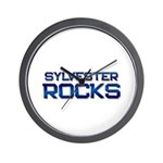 sylvester rocks Wall Clock