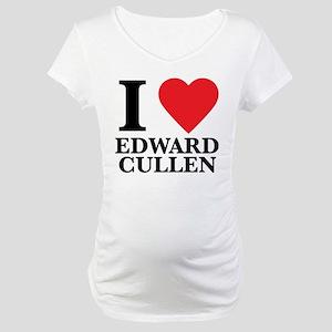 I Love Edward Cullen Maternity T-Shirt