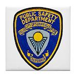 Sunnyvale Public Safety Tile Coaster