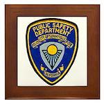 Sunnyvale Public Safety Framed Tile