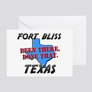 fort bliss texas - been there, done that Greeting