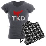 Taekwondo Women's Charcoal Pajamas
