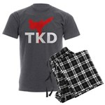 Taekwondo Men's Charcoal Pajamas