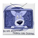 Corgi Television Tile Coaster