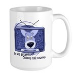 Corgi Television Large Mug