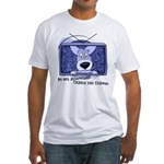 Corgi Television Fitted T-Shirt