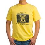 Corgi Television Yellow T-Shirt
