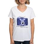 Corgi Television Women's V-Neck T-Shirt