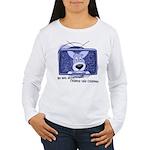 Corgi Television Women's Long Sleeve T-Shirt