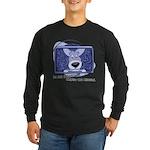 Corgi Television Long Sleeve Dark T-Shirt