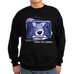 Corgi Television Sweatshirt (dark)