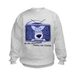 Corgi Television Kids Sweatshirt
