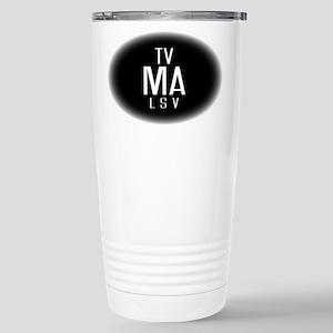 TV-MA Stainless Steel Travel Mug