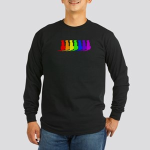 Rainbow Ridgeback Long Sleeve Dark T-Shirt