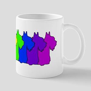 Rainbow Scottie Mug