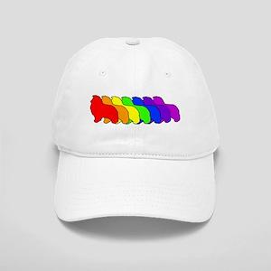 Rainbow Sheltie Cap