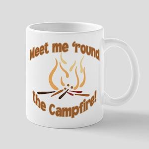 MEET ME 'ROUND THE CAMPFIRE! Mug