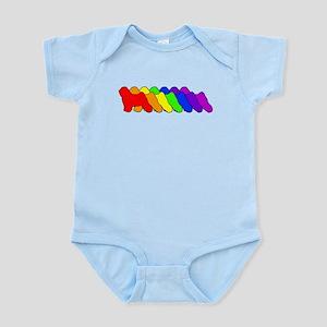 Rainbow Tibetan Infant Bodysuit
