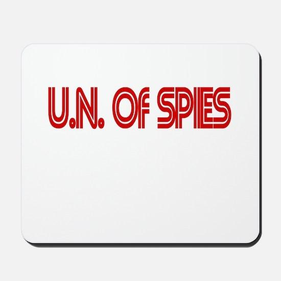 UN of SPIES Mousepad