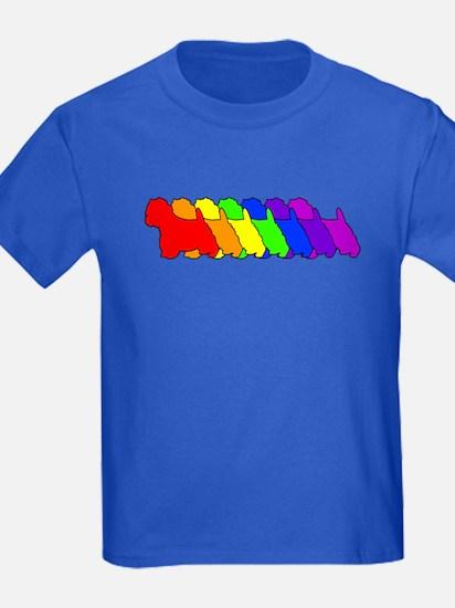 Rainbow Westie T