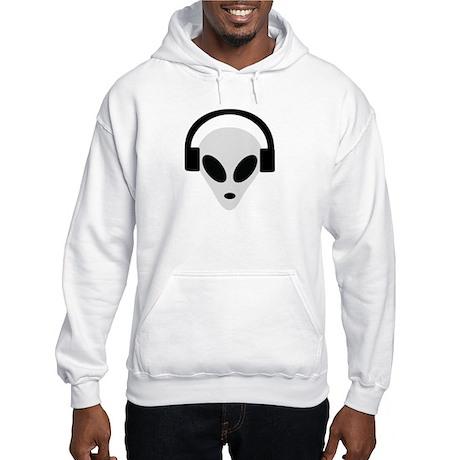 DJ Alien Hooded Sweatshirt