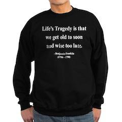 Benjamin Franklin 11 Sweatshirt (dark)
