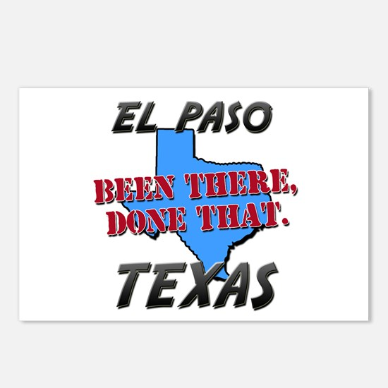 el paso texas - been there, done that Postcards (P