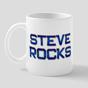 steve rocks Mug
