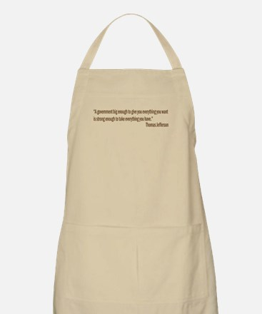 Jefferson quote BBQ Apron