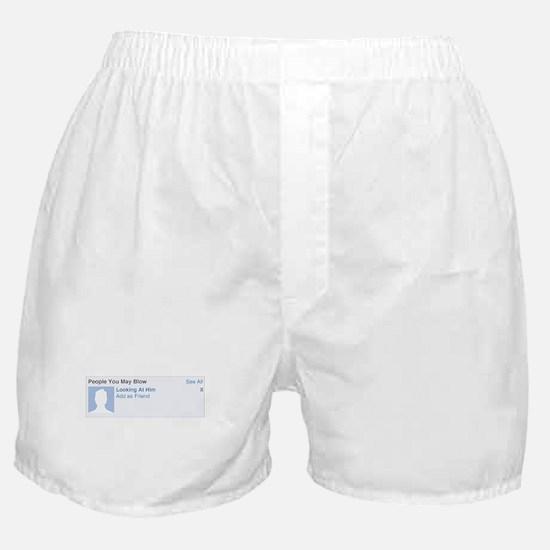 Facebook Boxer Shorts