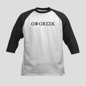 Go Greek Kids Baseball Jersey