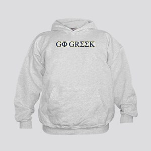 Go Greek Kids Hoodie
