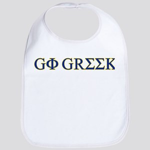 Go Greek Bib