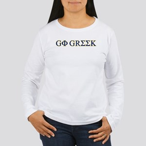 Go Greek Women's Long Sleeve T-Shirt