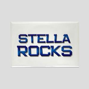 stella rocks Rectangle Magnet