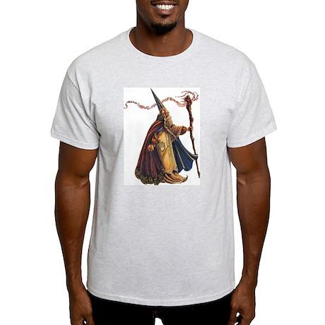 wizard walking Ash Grey T-Shirt