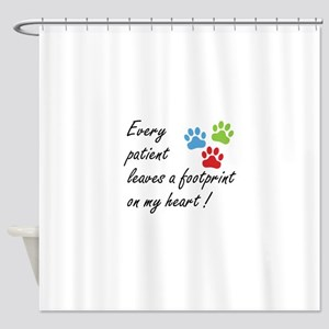 Veterinary Technician Shower Curtain