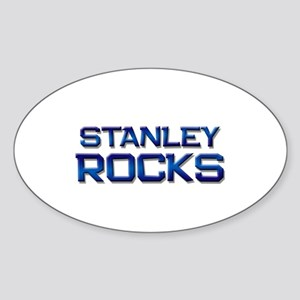 stanley rocks Oval Sticker