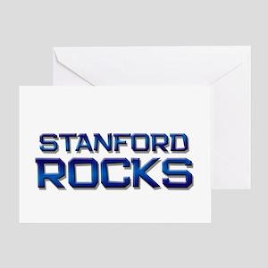 stanford rocks Greeting Card