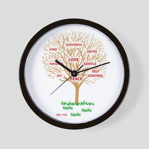Fruit of the SPIRIT - Wall Clock