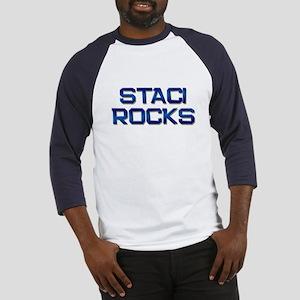 staci rocks Baseball Jersey