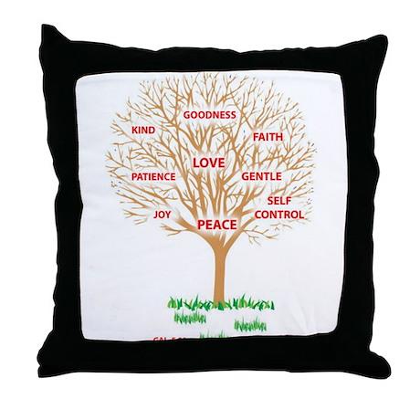 Fruit of the SPIRIT - Throw Pillow